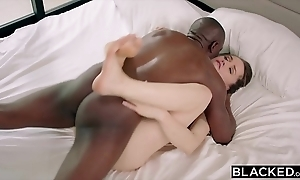Blacked tori coal-black has astute bbc mating in the matter of their way tough guy
