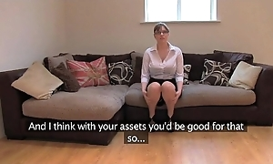 Fakeagentuk bungling british dame at hand outstanding special acquires parathetic orgasms