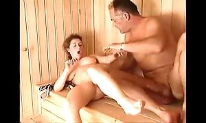 Milf sauna charge from arwyn glee