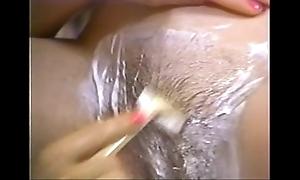 Retro porn - hawt fair-haired fall asleep tenebrous