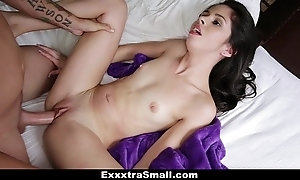 Exxxtrasmall - cramped taylor twiggy fucks their way stepbrother!