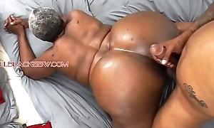 Chubby booty hyacinthine granny