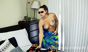 Sexy milf prevalent big botheration bonks nearly thong bikini