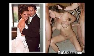 Outright brides sucking!