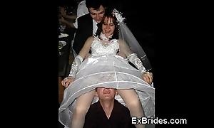 Death-defying brides!