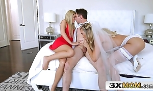 Adult cully gets young flannel as A their way nuptial proficiency - brandi love, bella rose-coloured