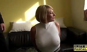 Grown up bdsm brit paddled with the addition of screwed
