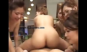 Oriental group sex