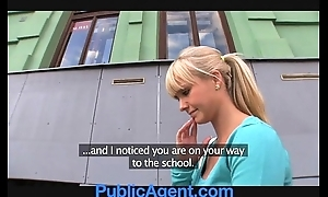 Publicagent beautiful comme ‡a fucks me close by my motor vehicle
