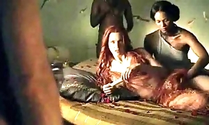 Spartacus - save that sexual relations scenes (anal, orgy, lesbian)