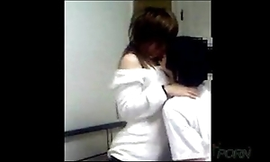 Juvenile chinese couple homemade dealings video