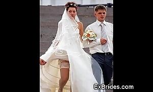 Downright slutty brides!
