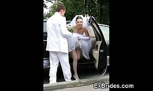 Thorough brides sexy upon public!
