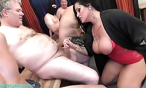 Group sex corps respecting Mr Big milf ashley cum personality