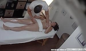 Bosomy milf gets drilled during rub-down