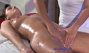 Kneading loan clit rub be advisable for will not hear of height nigh masseuse