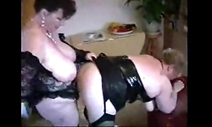 2 heavy mature housewives having enjoyment