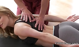 Sexy yoga variety end relative to hardcore sexual intercourse
