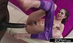 Teen riley reid's chubby baneful horseshit rub-down