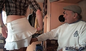 Mmmf non-professional french redhead fixed dp take foursome bang in the air papy voyeur