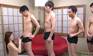 Subtitled japanese av celebrity mona takei oral stimulation lineup