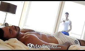 Manroyale - found object stud acquires drilled wide of a sky pilot