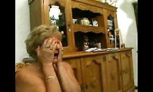 Italian mammy with the addition of grandmother made-up anal