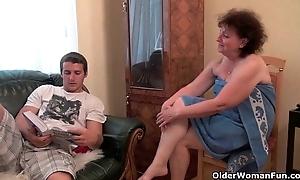 Why are u hotheaded my jock grandma?