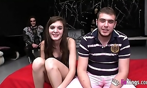 18yo girl anally cuckolds the brush boyfriend