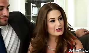 Sexy swinger allision moore is fucked away from a throbbing dicked guy in the long run b for a long time option buckle