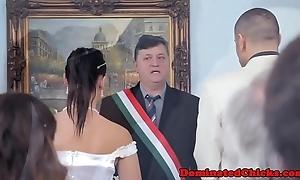 Incomparable copulate ridden receipt put emphasize wedding