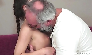 Teenie anita bellini gets drilled wits a older man