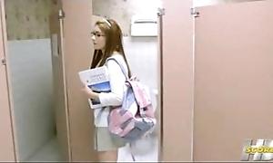 Who is she? cheerleader 3p men's room 2