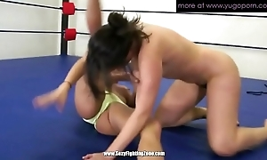 A handful of mature lesbos wrestling added to making soaked crack soaked