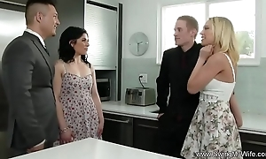 Slutty wife attempts anal indecision