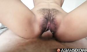 Oriental lovemaking almanac - youthful filipina cutie acquires her puristic vagina screwed
